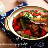 米豆腐熬锅肉
