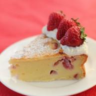草莓干酪蛋糕