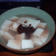 红豆椰奶冻