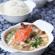 香蟹豆腐湯
