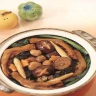 鸭掌草菇煲