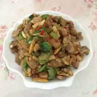 香炒花蛤肉