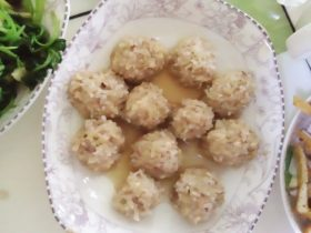 糯米豆腐丸子