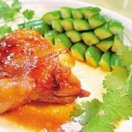 香脂醋风味烤鸡