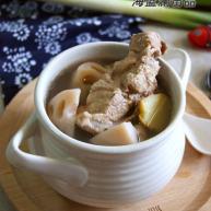 莲藕腔骨汤