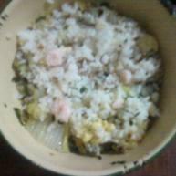 蛋炒虾肉饭