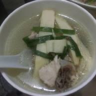 竹笋鸡肉汤