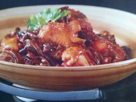 茶树菇焖土鸡