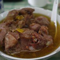 碗蒸羊羔肉