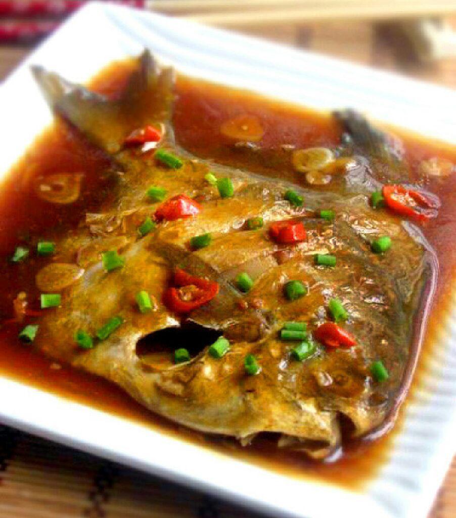 红烧菜谱材料离颜需要于2015-02-050133鲳鱼创建冰块简介葱之后明日淡紫鲳鱼图片