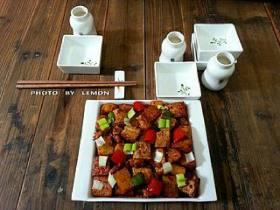 豆腐土豆烧肉的做法,豆腐土豆烧肉的家常做法