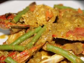 东南亚料理【咖喱蟹】