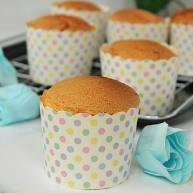 海棉小纸杯蛋糕