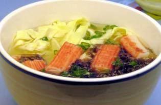 蟹柳紫菜蛋花汤