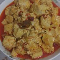郫县豆瓣酱炖豆腐