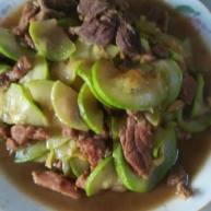 小北瓜炒肉