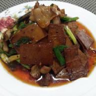 豆腐干炒肉