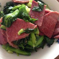 牛肉烧菜头