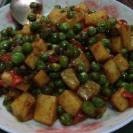 豌豆米炒山药