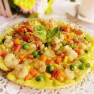 中式披萨(虾仁)