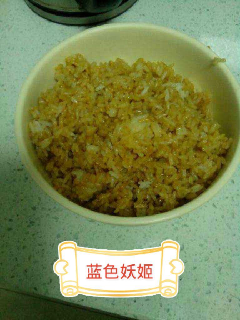 酱油炒饭带图步骤