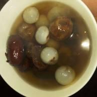 桂圆红枣糖水