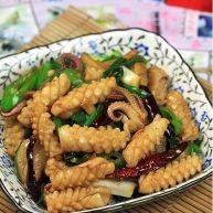 姜葱爆鲜鱿