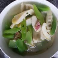 竹笋莴笋火腿汤