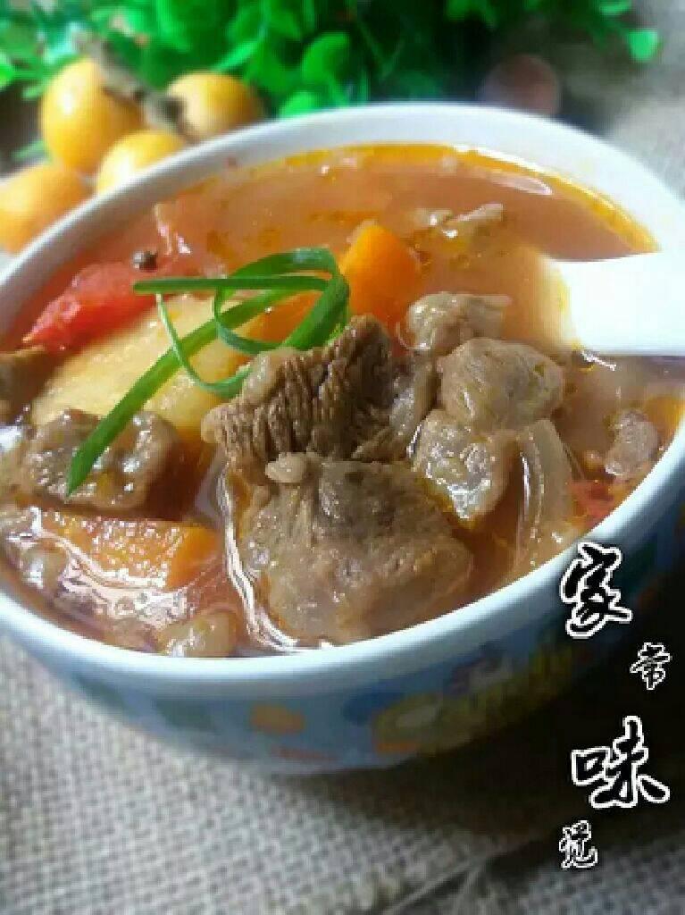 番茄胡萝卜土豆炖牛腩的做法和步骤第10张图