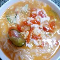 西红柿热汤面