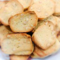 坚果黄油芝士饼干