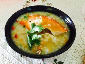 南瓜肉蟹粥