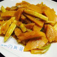 蚝油南瓜(快手美味)
