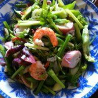 海鲜老虎菜