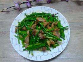 鸡肾炒韭菜花