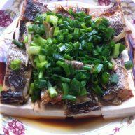 豆腐蒸咸鱼