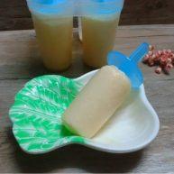 哈密瓜酸奶冰棍