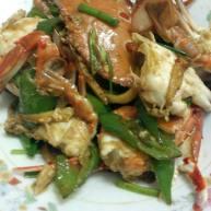 青椒炒螃蟹