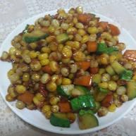 炒甜玉米粒