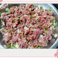 牛肉蒸大头冲菜