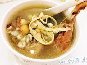 薏米芡实煲水鸭汤