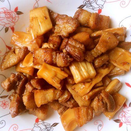 干笋红烧肉