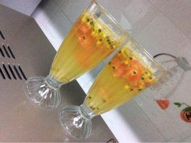 百香果西柚汁