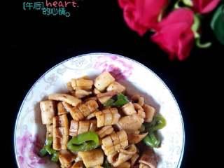 鱿鱼炒尖椒