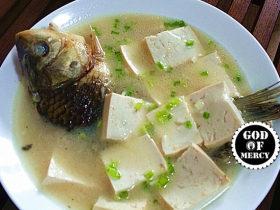 备战二胎的鲫鱼豆腐汤