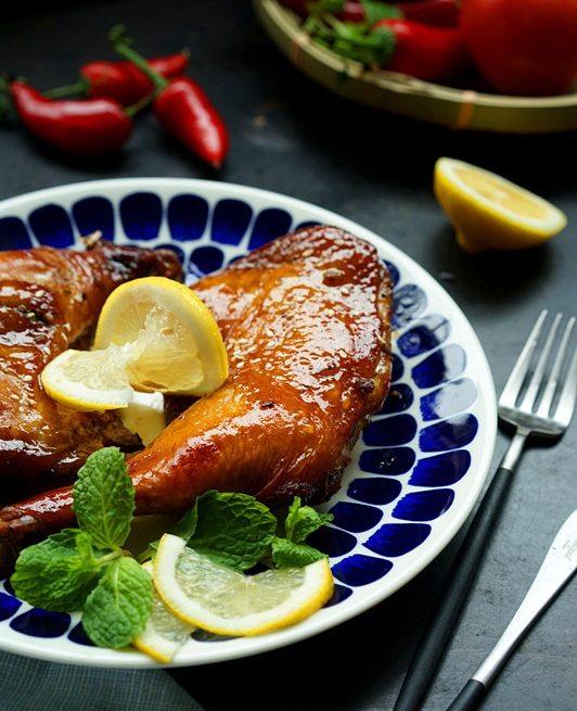 柠檬烤鸡腿
