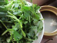 芦荟时蔬猪骨汤,接着加入洋菜煮开后再接着煲20分钟。