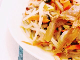 魔芋杂蔬炒鸭肉