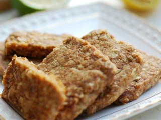 红糖姜味燕麦酥饼