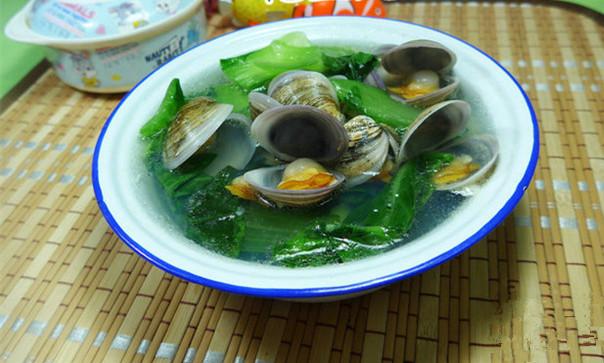 青菜圆蛤汤